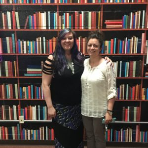 Amanda Banach and Jenn Lisak at Ladies in SaaS event