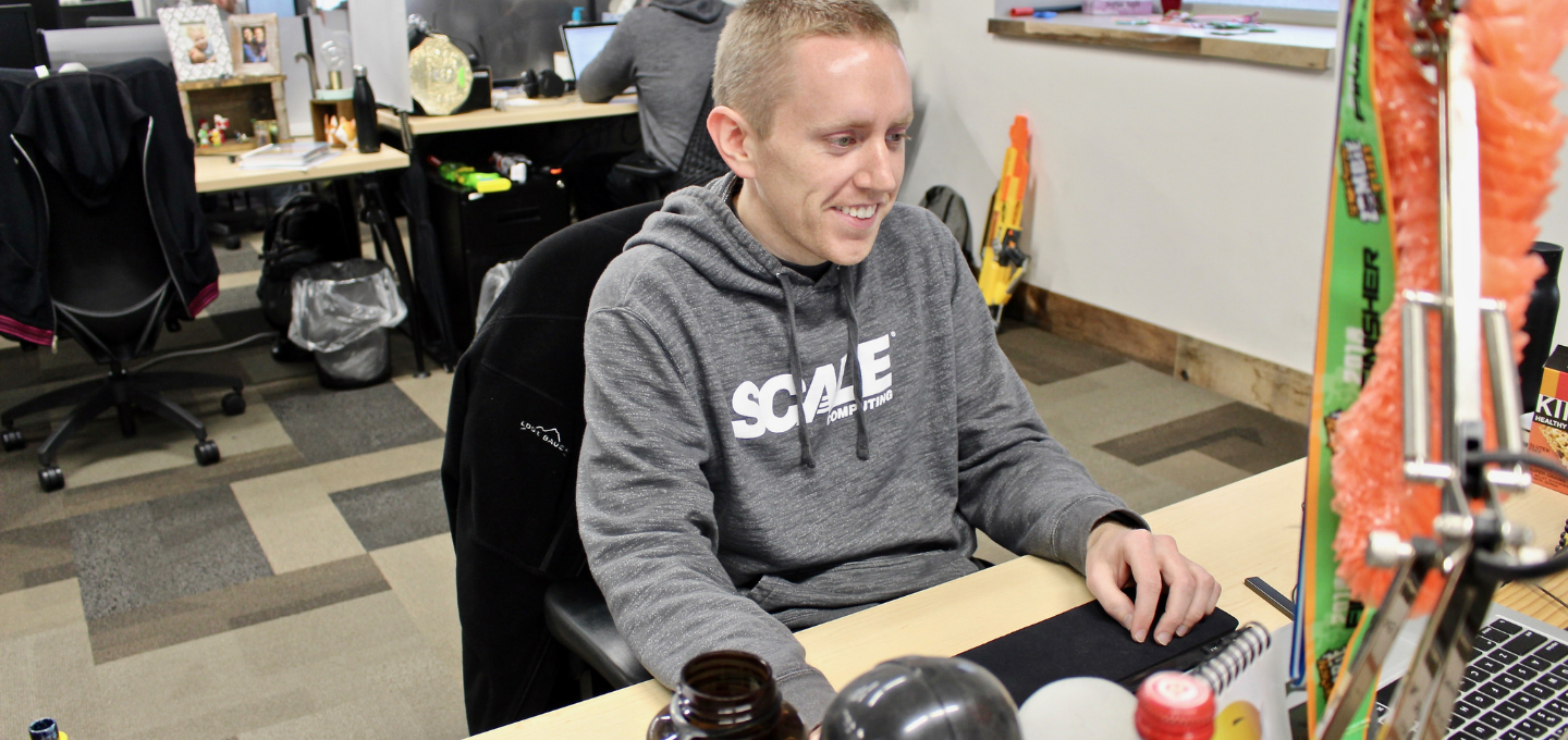 Meet Blake Rodier, Technical Support Manager at Scale Computing